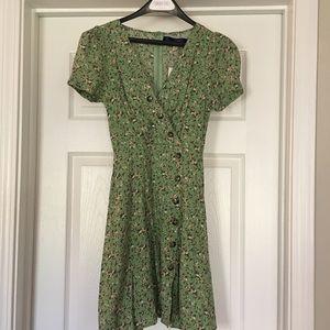 Adorable Francesca's Green Dress